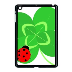 Insect Flower Floral Animals Green Red Line Apple Ipad Mini Case (black) by Mariart