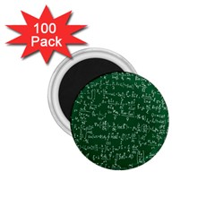 Formula Number Green Board 1 75  Magnets (100 Pack)  by Mariart