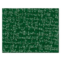 Formula Number Green Board Rectangular Jigsaw Puzzl by Mariart