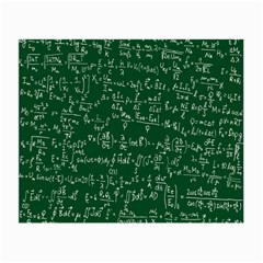 Formula Number Green Board Small Glasses Cloth (2 Side) by Mariart