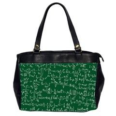 Formula Number Green Board Office Handbags (2 Sides)  by Mariart