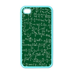 Formula Number Green Board Apple Iphone 4 Case (color) by Mariart