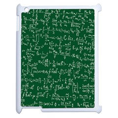 Formula Number Green Board Apple Ipad 2 Case (white) by Mariart