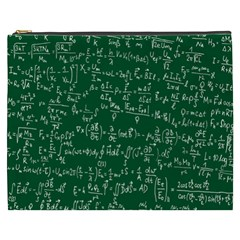 Formula Number Green Board Cosmetic Bag (xxxl)  by Mariart