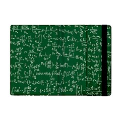 Formula Number Green Board Apple Ipad Mini Flip Case by Mariart