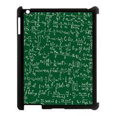 Formula Number Green Board Apple Ipad 3/4 Case (black) by Mariart