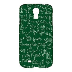 Formula Number Green Board Samsung Galaxy S4 I9500/i9505 Hardshell Case by Mariart