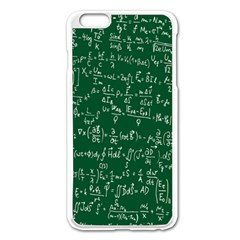 Formula Number Green Board Apple Iphone 6 Plus/6s Plus Enamel White Case by Mariart