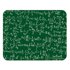 Formula Number Green Board Double Sided Flano Blanket (large)  by Mariart