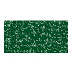 Formula Number Green Board Satin Wrap by Mariart