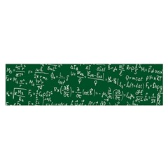 Formula Number Green Board Satin Scarf (oblong) by Mariart