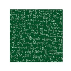 Formula Number Green Board Small Satin Scarf (square) by Mariart