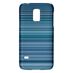 Horizontal Line Blue Galaxy S5 Mini by Mariart