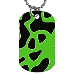 Abstract Shapes A Completely Seamless Tile Able Background Dog Tag (two Sides)
