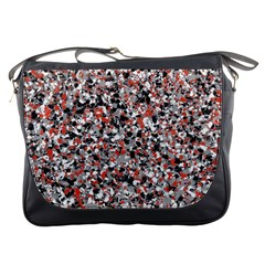 Hurley Mix Electric Electric Red Blend Messenger Bags by Mariart
