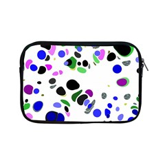 Colorful Random Blobs Background Apple Ipad Mini Zipper Cases by Nexatart