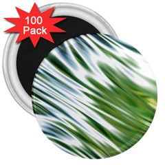 Fluorescent Flames Background Light Effect Abstract 3  Magnets (100 Pack)