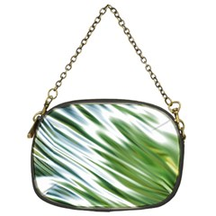Fluorescent Flames Background Light Effect Abstract Chain Purses (one Side)