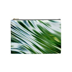 Fluorescent Flames Background Light Effect Abstract Cosmetic Bag (medium)  by Nexatart