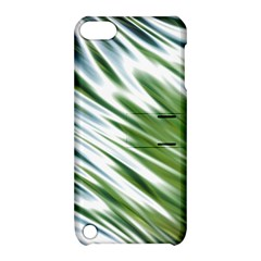 Fluorescent Flames Background Light Effect Abstract Apple Ipod Touch 5 Hardshell Case With Stand by Nexatart