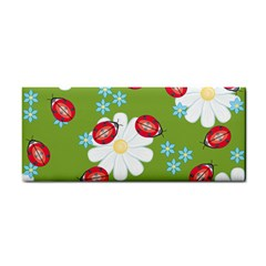 Insect Flower Floral Animals Star Green Red Sunflower Cosmetic Storage Cases by Mariart