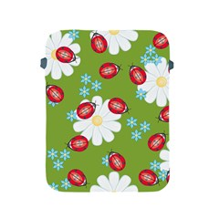 Insect Flower Floral Animals Star Green Red Sunflower Apple Ipad 2/3/4 Protective Soft Cases by Mariart