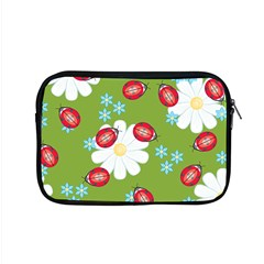 Insect Flower Floral Animals Star Green Red Sunflower Apple Macbook Pro 15  Zipper Case by Mariart