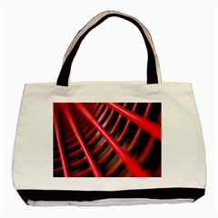 Abstract Of A Red Metal Chair Basic Tote Bag by Nexatart