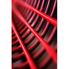 Abstract Of A Red Metal Chair 5 5  X 8 5  Notebooks by Nexatart