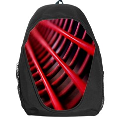 Abstract Of A Red Metal Chair Backpack Bag by Nexatart