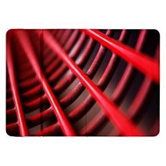 Abstract Of A Red Metal Chair Samsung Galaxy Tab 8 9  P7300 Flip Case by Nexatart