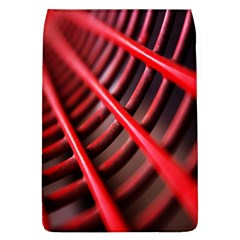 Abstract Of A Red Metal Chair Flap Covers (l)  by Nexatart
