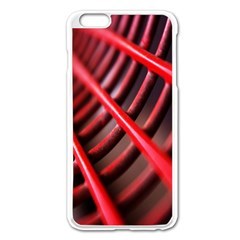 Abstract Of A Red Metal Chair Apple Iphone 6 Plus/6s Plus Enamel White Case