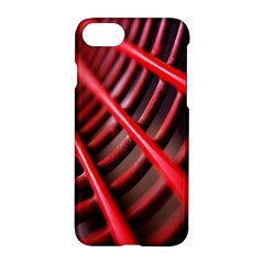 Abstract Of A Red Metal Chair Apple Iphone 7 Hardshell Case by Nexatart