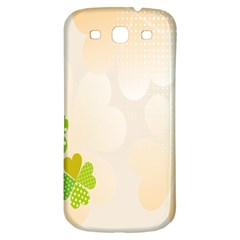 Leaf Polka Dot Green Flower Star Samsung Galaxy S3 S Iii Classic Hardshell Back Case by Mariart