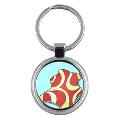 Make Bedroom Unique Key Chains (round)  by Mariart