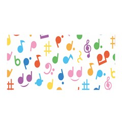 Musical Notes Satin Wrap by Mariart