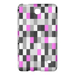 Pink Grey Black Plaid Original Samsung Galaxy Tab 4 (8 ) Hardshell Case  by Mariart