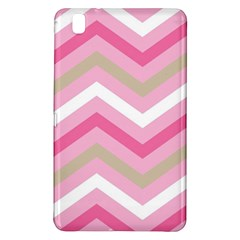 Pink Red White Grey Chevron Wave Samsung Galaxy Tab Pro 8 4 Hardshell Case by Mariart