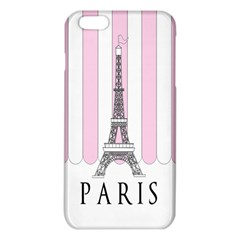 Pink Paris Eiffel Tower Stripes France Iphone 6 Plus/6s Plus Tpu Case by Mariart