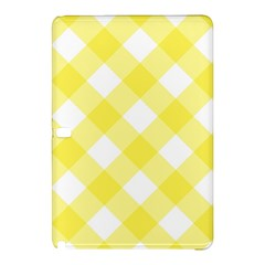 Plaid Chevron Yellow White Wave Samsung Galaxy Tab Pro 10 1 Hardshell Case by Mariart