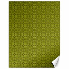 Royal Green Vintage Seamless Flower Floral Canvas 12  X 16   by Mariart