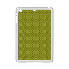 Royal Green Vintage Seamless Flower Floral Ipad Mini 2 Enamel Coated Cases by Mariart