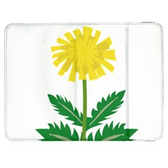 Sunflower Floral Flower Yellow Green Samsung Galaxy Tab 7  P1000 Flip Case by Mariart