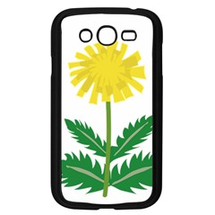 Sunflower Floral Flower Yellow Green Samsung Galaxy Grand Duos I9082 Case (black) by Mariart