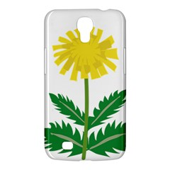 Sunflower Floral Flower Yellow Green Samsung Galaxy Mega 6 3  I9200 Hardshell Case by Mariart