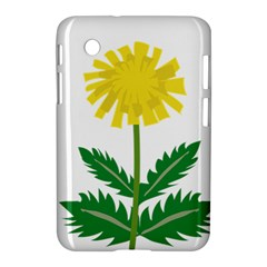 Sunflower Floral Flower Yellow Green Samsung Galaxy Tab 2 (7 ) P3100 Hardshell Case  by Mariart
