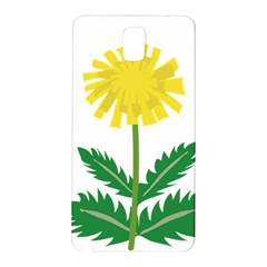 Sunflower Floral Flower Yellow Green Samsung Galaxy Note 3 N9005 Hardshell Back Case by Mariart