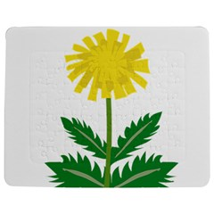 Sunflower Floral Flower Yellow Green Jigsaw Puzzle Photo Stand (rectangular) by Mariart