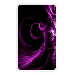 Purple Flower Floral Memory Card Reader by Mariart